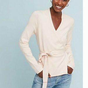ETT TWA ANTHROPOLOGIE Harriet wrap Sweater